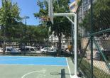 Güneşli Mahallesi Osman Öksüz Parkı Basketbol Potaları Yağlı Boya Çalışması