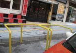 Şükrü Saraçoğlu Caddesi Çöp Konteynırı Sabitleme Korkuluğu Boya Çalışması