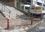 Güzelyalı Mahallesi 26-34 Sokak Kesişimi Bariyer Montaj Çalışması