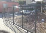Duatepe Mahallesi Muhtarlık Ofisi Etrafı Yeşil Tel Çit, Bayrak Direği ve Kapı İmalat Montaj Çalışması