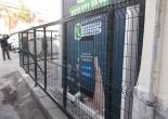 Türkyılmaz Mahallesi Muhtarlık Ofisi Etrafı Yeşil Tel Çit, Korkuluk, Rögar Kapağı ve Bayrak Direği İmalat Montaj Çalışması