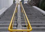 Çankaya Mahallesi 152 Sokak, Merdiven Tutamakları Boya Çalışması
