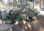 Kültür Mahallesi Atatürk Lisesi Bahçesi Moloz Alım Çalışması