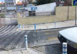 Şükrü Saraçoğlu Caddesi Bariyerleri Yağlı Boya Çalışması