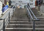 Altıntaş Mahallesi 349 Sokakta Gerçekleştirilen, Merdiven Tutamakları Boya Çalışması