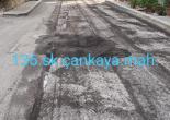 Çankaya Mahallesi 136 Sokak Asfalt Freze ve Finişerle Asfalt Serme Çalışması