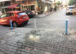 Alsancak Mahallesi 1440 Sokak ile 1441 Sokak Bariyerleri Yağlı Boya Çalışması