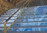 Kılıç Reis Mahallesi 308 Sokak Merdiven Tutamakları Yağlı Boya Çalışması