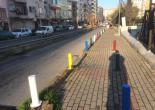 Mithatpaşa Mahallesi 181 Sokakta Gerçekleştirilen Bariyer Boya Çalışması