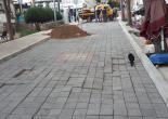 Çankaya Mahallesi 129 Sokakta Bozulan Yol Gövdesi Taşlarını Düzenleme Çalışması