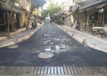 Alsancak Mahallesi 1436 Sokak Finişerle Asfalt Serme Çalışması