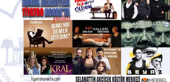 Konak'ta Tiyatro Bayramı