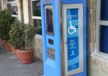 Akülü Engelli Arabaları İçin Şarj İstasyonu