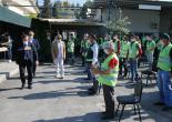 Başkan Batur 1 Mayıs'ı Belediye İşçileriyle Birlikte Kutladı