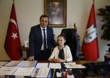 Başkan Batur Koltuğu Minik Eliz'e Emanet Etti