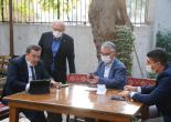 Başkan Batur Kriz Masasında Ekipler Sahada