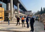 Başkan Batur'dan Tesis İnşaatlarına Denetleme