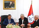 Batur'a EBSO'dan Tebrik Ziyareti