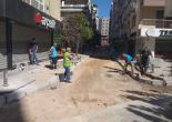 Alsancak Mahallesi 1437 Sokak Finişerle Asfalt Serme Çalışması