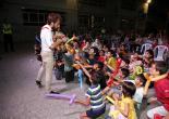 Konaklı Çocuklar Eğlenceye Doydu