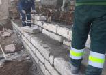 Dolaplıkuyu Mahallesi 750 Sokakta İstinat Duvarı Düzenleme/Örme Çalışması