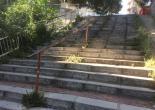 Göztepe Mahallesi 77/1 Sokak ile 108 Sokak Merdiven Tutamakları Yağlı Boya Çalışması