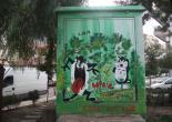Güzelyalı Mahallesi Fuat Göztepe Parkı Trafo Boya Çalışması