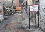 Dolaplıkuyu Mahallesi 745 Sokak No: 14  Metruk Bina Tel Örgü ve Uyarı Levhası Montaj Çalışması