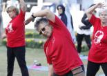 Konak'ta Hareketli Sabah; Başkan Batur'dan Şut ve Gol