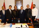 Başkan Batur'dan Göztepe'ye Tam Destek