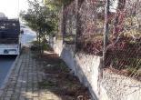 Mehmet Akif Mahallesi Ömer Zeybek Mesleki ve Teknik Anadolu Lisesi Bahçe Duvarları Üzeri Tel Örgü Onarım Çalışması