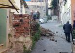 Altınordu Mahallesi 961 Sokak Tehlikeli Duvar Yıkımı ve Duvar Örme Çalışması