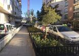 Mimar Sinan Mahallesi 1394 Sokak, Yeşil Alanlarda Plastik Ferforje Montaj Çalışması
