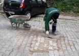 Güzelyalı Mahallesi 63 Sokakta, Parke Taşları Onarım Çalışması