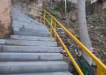 Akın Simav Mahallesi 272 Sokak Merdiven Tutamak İmalat, Montaj ve Boya Çalışması