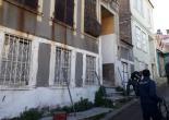 Yeni Mahallesi 806 Sokak No: 11, Metruk Bina Çevresi Tel Örgü ve Uyarı Levhası Montaj Çalışması