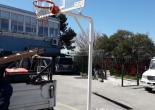 Kestelli Mahallesi Kestelli Şerife Eczacıbaşı Ortaokulu Basketbol Potası Onarım Çalışması