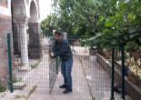 Yeşiltepe Mahallesi İzmir Etnografya Müzesi Yeşil Çit ve Kapı İmalat ve Montaj Çalışması