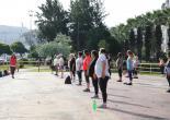 Konak'ta Spor Açık Havaya Taşındı