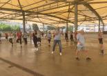 Konak'ta Sabah Sporu Artık Pazar Yerinde