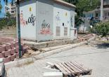 Mithatpaşa Mahallesi Muhtarlık Ofisi Karşısı Yeşil Alan Düzenleme Çalışması
