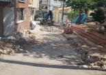 Mithatpaşa Mahallesi 200 Sokakta Yenilenen Park Çevresi El ile Asfalt Serme ve Kaldırım Yenileme Çalışması