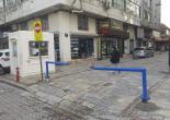 İsmet Kaptan Mahallesi Çankaya Elektronikçiler Çarşısı Girişi Hareketli Bariyer ve Çıkmalı Bariyer Montaj Çalışması