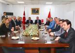 İTO'dan Batur'a Destek ve Birliktelik Mesajı