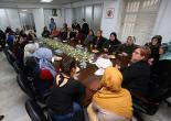 Kadifekaleli Kadınlardan Pekdaş'a Taziye Ziyareti