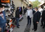 Kemeraltı Çarşısı ve Berber Esnafı Kepenklerini Açtı