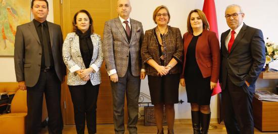 Anadolu Birliği'nden Pekdaş'a Ziyaret