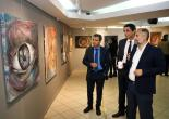Kızılay'a Destek Sergisi Konak'ta Açıldı