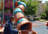 Konak'ta Parklar Çocuklar İçin Hazırlanıyor