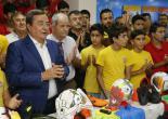 Konak'ta Amatör Spora Destek Sürüyor